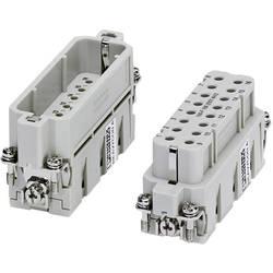 Súprava konektorovej zásuvky HC-A Phoenix Contact HC-A 16-EBUC-32 1677050, počet kontaktov 16 + PE, krimpované , 1 ks
