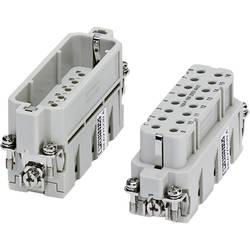 Zástrčková vložka HC-A Phoenix Contact HC-A 16-ESTC-32 1677076, počet kontaktov 16 + PE, krimpované , 1 ks