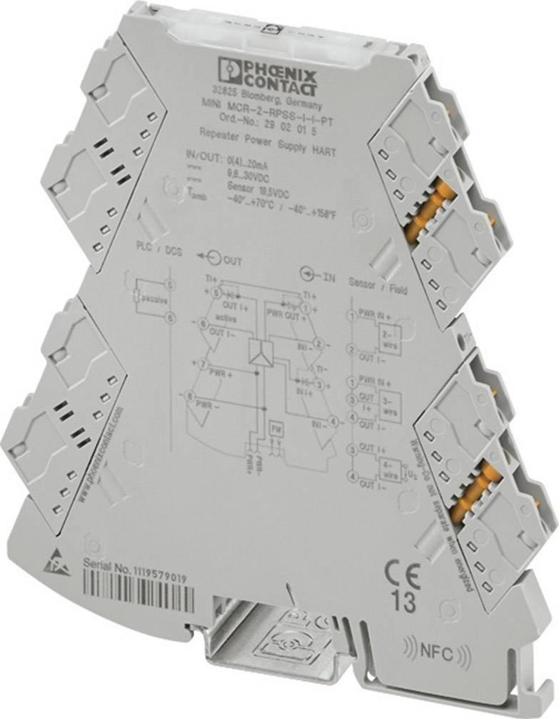 3-cestný izolačný zosilňovač napájania Phoenix Contact MINI MCR-2-RPSS-II 2902014 1 ks