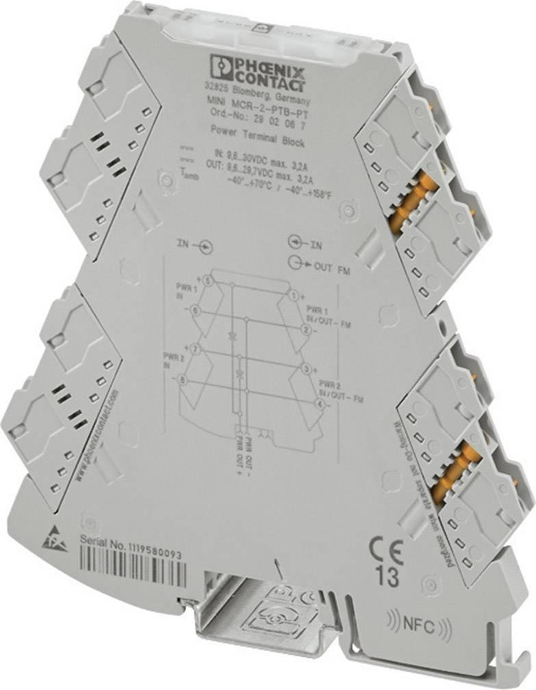 Napájacia svorka Phoenix Contact MINI MCR-2-PTB 2902066 1 ks