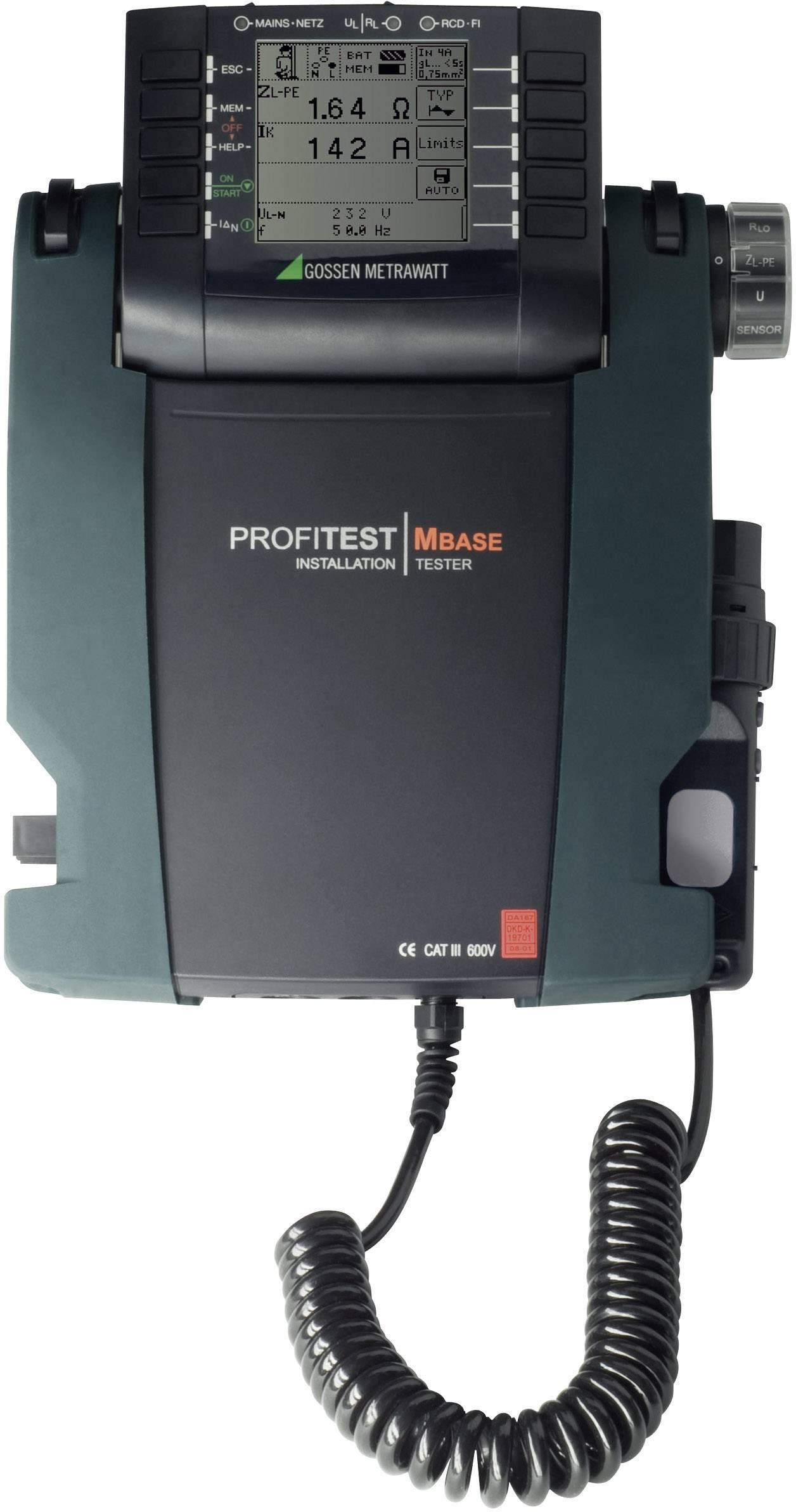 VDE Tester Gossen Metrawatt Profipaket Xtra M500
