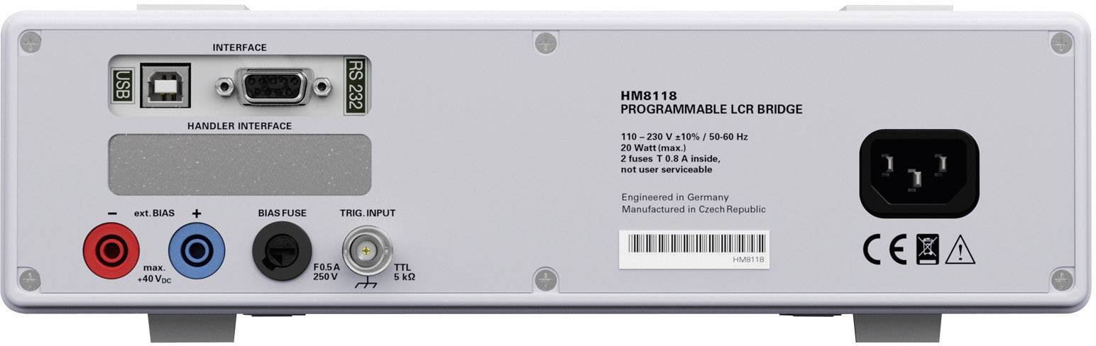Měřicí můstek Hameg LCR HM 8118