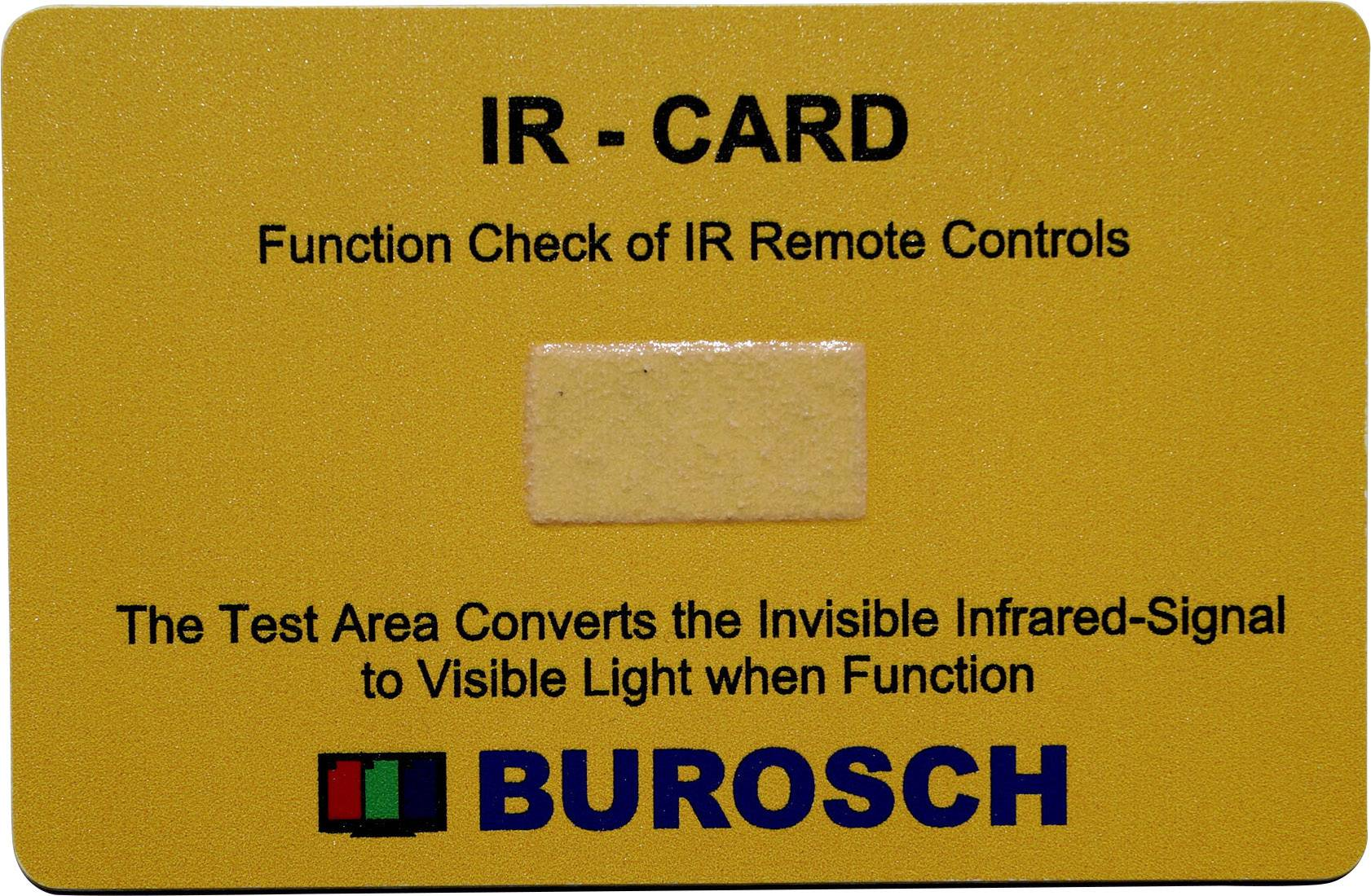Testr infračerveného záření