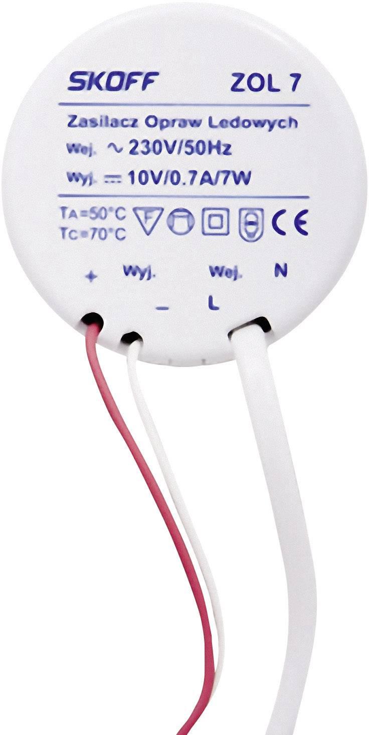 LED driver, napájací zdroj pre LED SKOFF ZOL 7, 7 W (max), 0.7 A, 10 V/DC