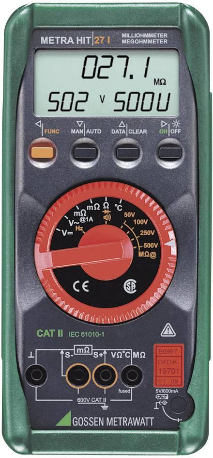 Digitálny multimeter Gossen Metrawatt Metrahit 27i