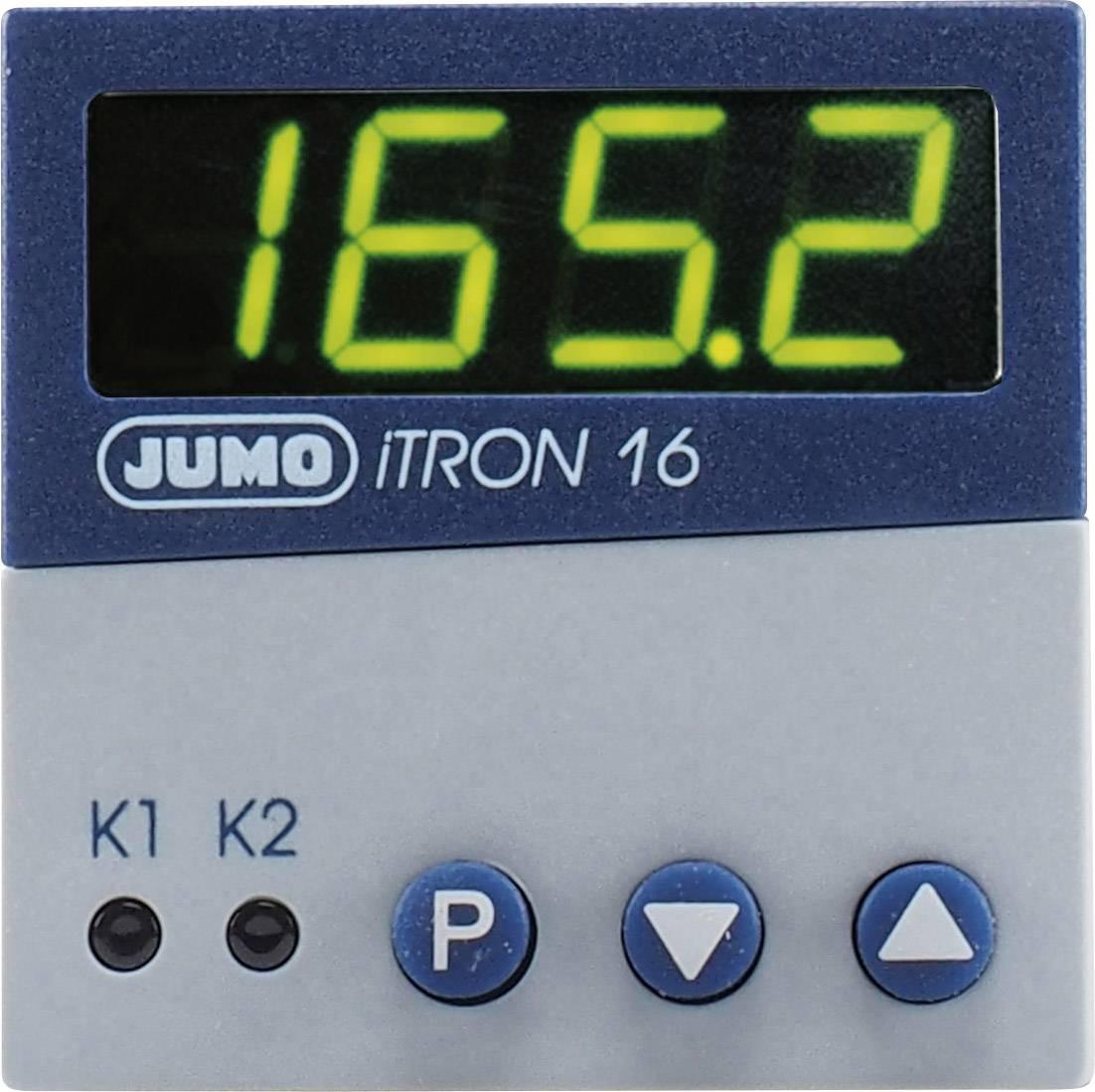 Regulátor mikroprocesoru JUMO iTRON 16, 110 - 240 V/AC