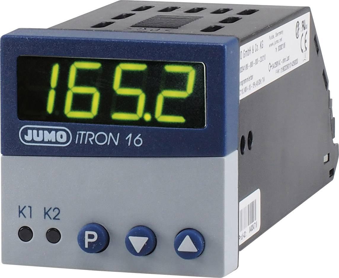 Mikroprocesorový regulátor Jumo, modelová rada iTRON 16