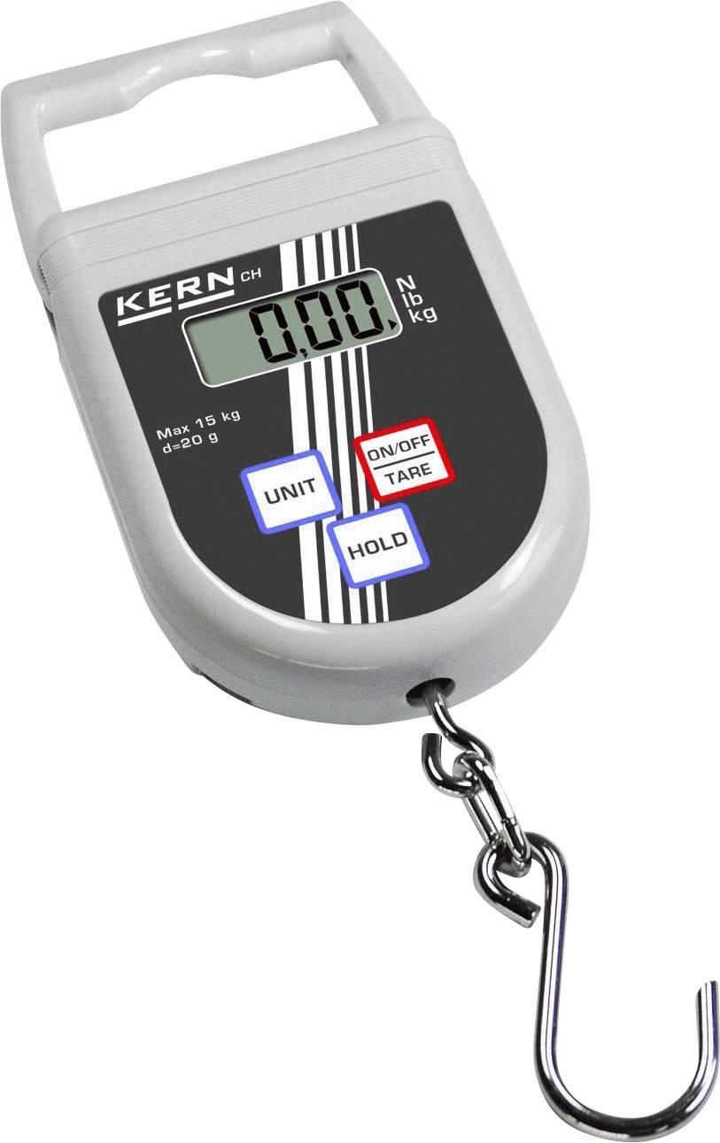 Elektronická závěsná váha Kern CH50K50, max. 50 kg
