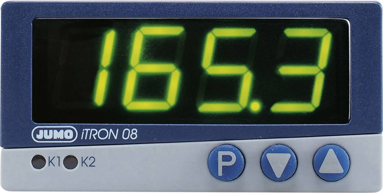 Mikroprocesorový regulátor Jumo, modelová rada iTRON 08 Q