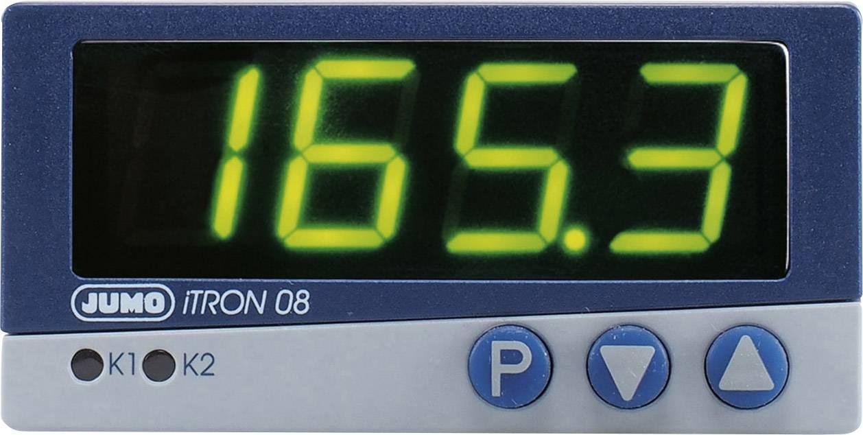 Regulátor mikroprocesoru JUMO iTRON 08 Q, 110 - 240 V/AC