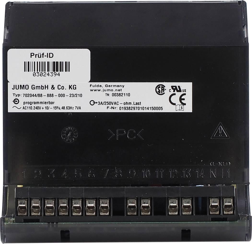 Mikroprocesorový regulátor Jumo, modelová rada iTRON 04