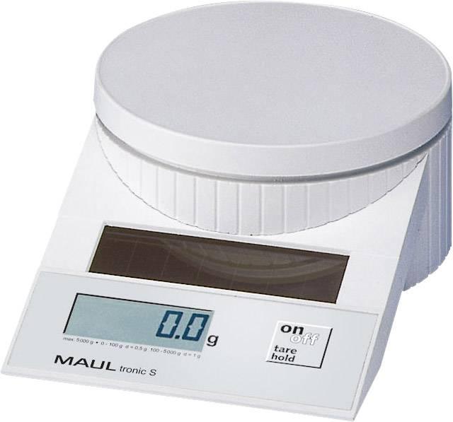 Váha na dopisy Maul MAULtronic S 5000 max. váživost 5 kg rozlišení 2 g, 5 g bílá