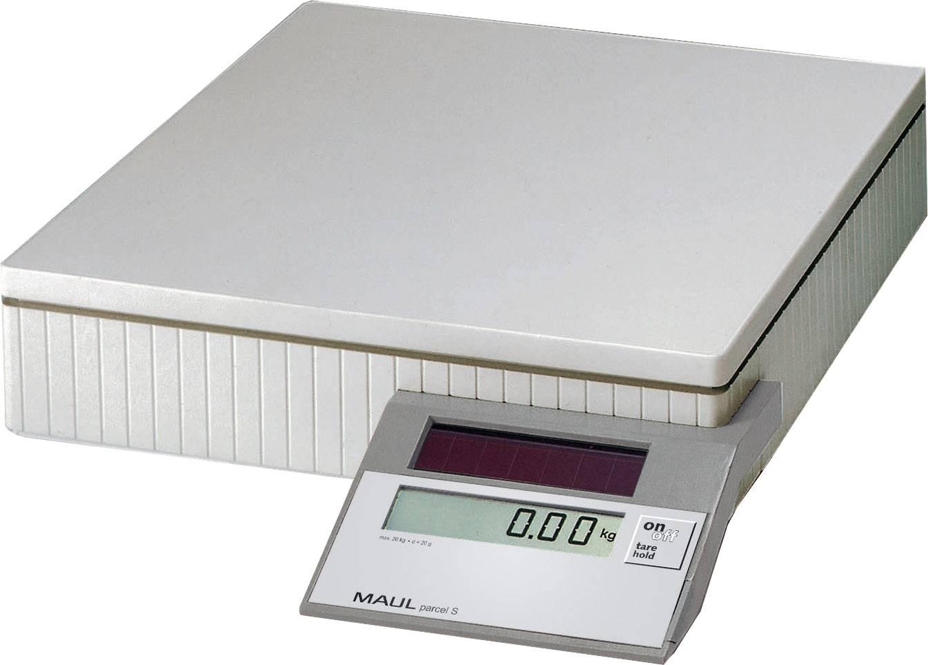 Balíková váha Maul MAULparcel S 50 1745082, max.váživosť 50 kg, sivá