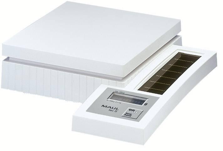 Solárna poštová váha MAULtec S-1000, biela