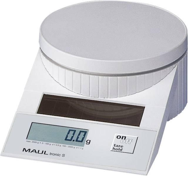 Solárna poštová váha MAULtronic S-2000, biela