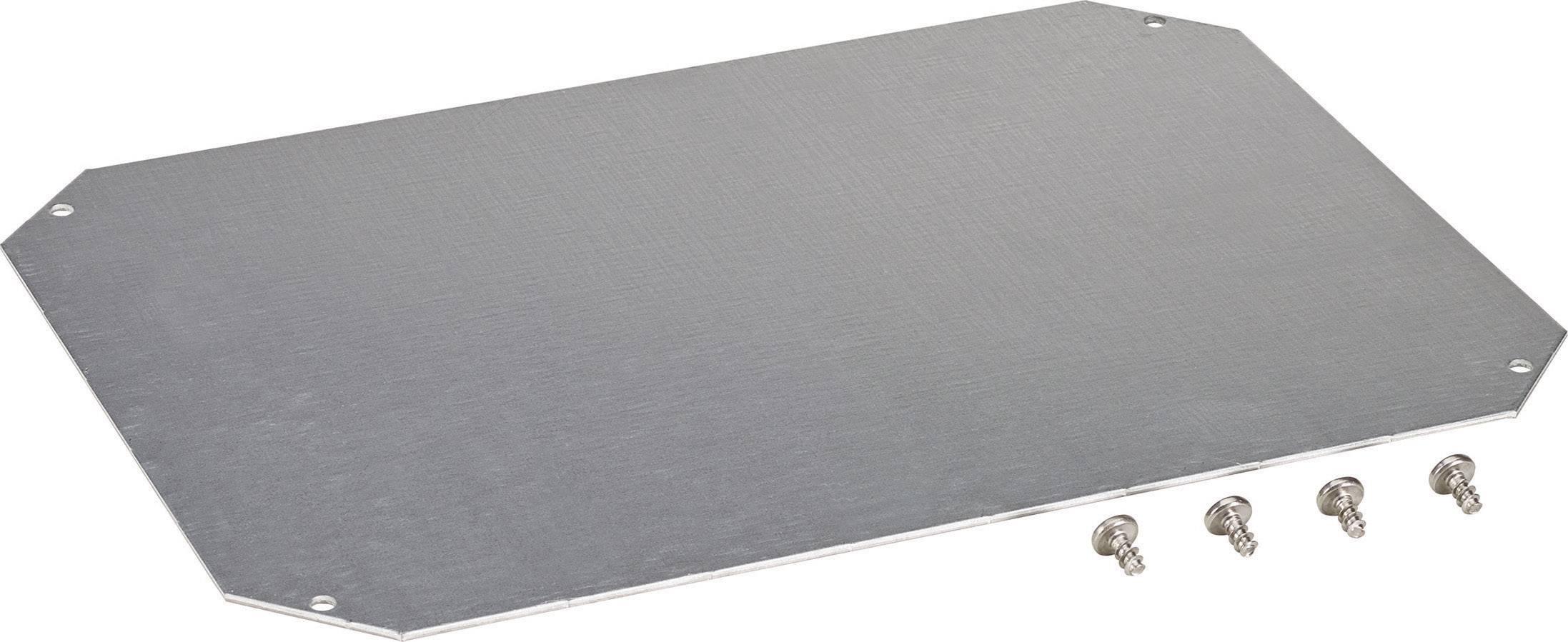 Montážna doska oceľový plech Fibox ARCA 8120733, (d x š) 400 mm x 300 mm