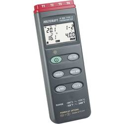 Teploměr VOLTCRAFT K204 K204, -200 až +1370 °C, typ senzoru K, Kalibrováno dle: ISO