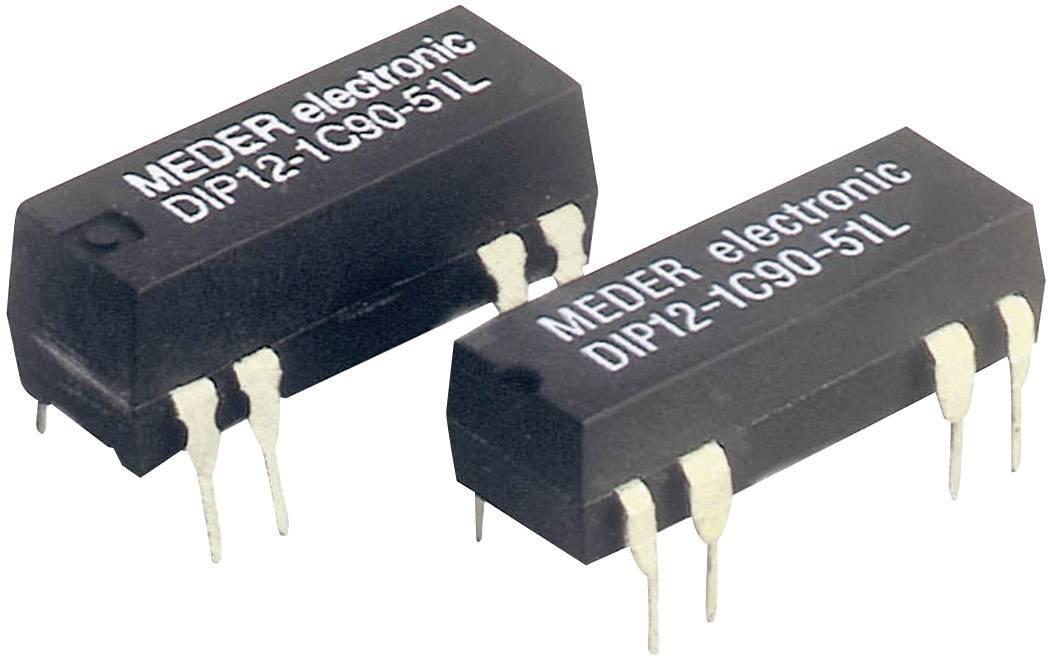 Relé s jazýčkovým kontaktem StandexMeder Electronics DIP24-1C90-51L, 3224001051, 1 přepínací kontakt, 24 V/DC, 0.5 A, 10 W, DIP-8