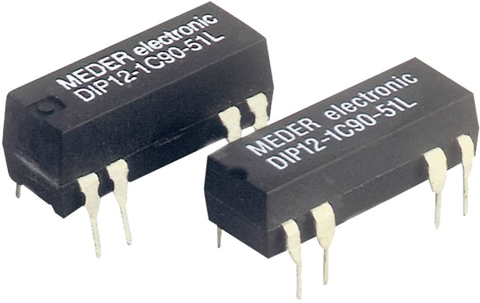Relé s jazýčkovým kontaktem StandexMeder Electronics DIP24-1C90-51D, 3224001151, 1 přepínací kontakt, 24 V/DC, 0.5 A, 10 W, DIP-8