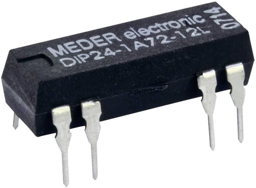Relé s jazýčkovým kontaktem StandexMeder Electronics DIP24-1A72-12D, 3224100112, 1 spínací kontakt, 24 V/DC, 1 A, 10 W, DIP-8