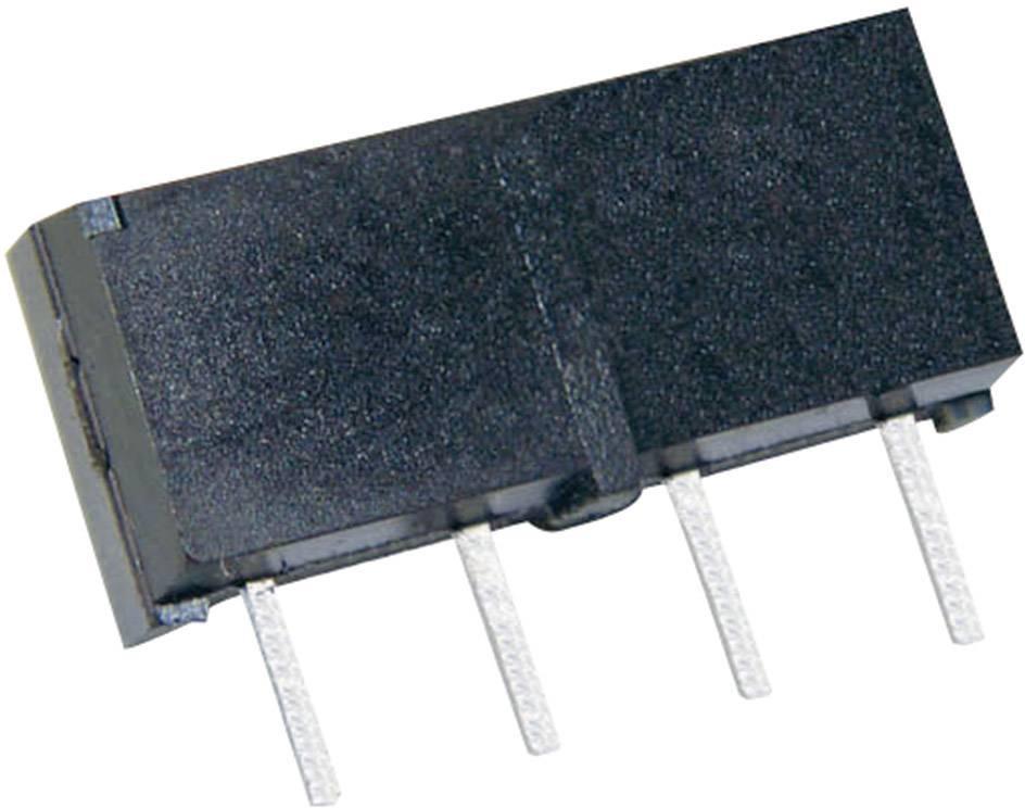 Relé s jazýčkovým kontaktem StandexMeder Electronics MS05-1A87-75DHR, 4205187875, 1 spínací kontakt, 5 V/DC, 0.5 A, 10 W, SIP-4
