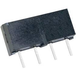 Relé s jazýčkovým kontaktem StandexMeder Electronics MS05-1A87-75LHR, 4205187975, 1 spínací kontakt, 5 V/DC, 0.5 A, 10 W, SIP-4