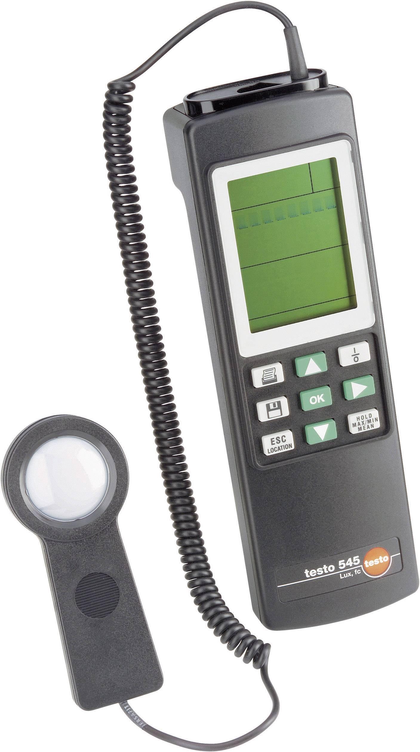 Digitálny luxmeter testo 545
