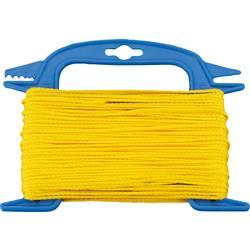 Polypropylenový provázek dörner + helmer 190309, pleteno, (Ø x d) 3.5 mm x 30 m, žlutá