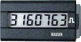 Čítač impulzov Bauser 3810.2.1.1.0.2, 12 - 24 VDC, 45 x 22 mm, IP65