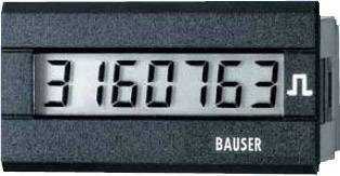 Čítač impulzov Bauser 3810.2.1.7.0.2, 115 - 240 VAC, 45 x 22 mm, IP65