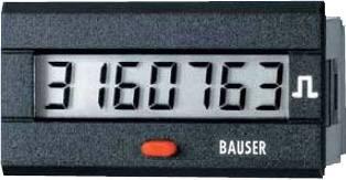 Čítač impulzov Bauser 3810.3.1.1.0.2, 12 - 24 VDC, 45 x 22 mm, IP54