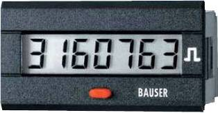 Čítač impulzov Bauser 3810.3.1.7.0.2, 115 - 240 VAC, 45 x 22 mm, IP54