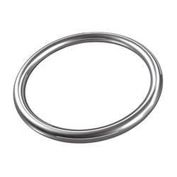 Svařovaný kroužek dörner + helmer 4910134, N/A, vnitřní Ø: 25 mm, nerezová ocel, 10 ks