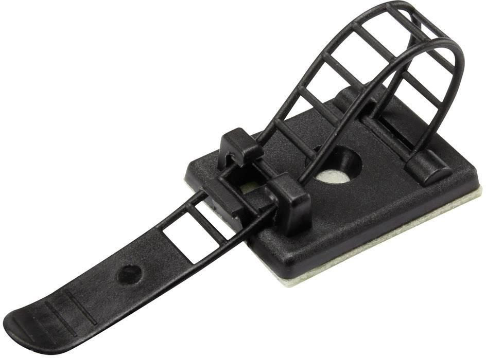 Conrad Components WCT-85 1206771, 22 mm (max), čierna, 1 ks