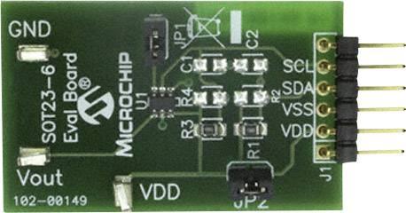 Vývojová doska Microchip Technology MCP4725EV