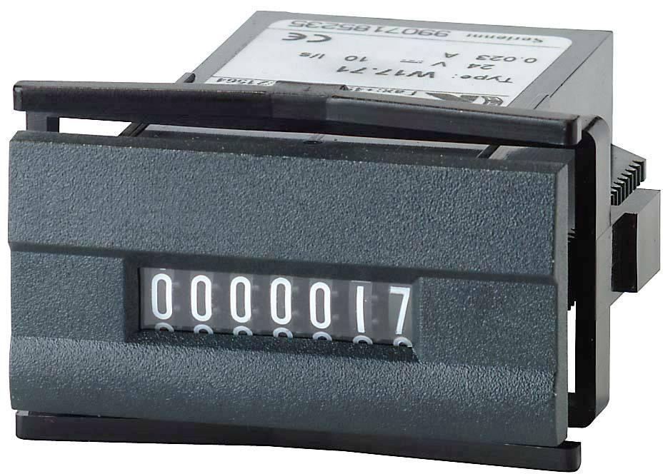 Čítač impulzov Kübler 230 V/AC, Typ W 17.50