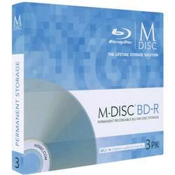 M-DISC Blu-ray 25 GB Millenniata Slimcase, MDBD003, 3 ks