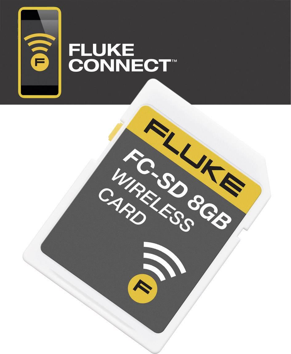 Bezdrátová SD karta Fluke FLK-FC-SD CARD 8 GB, 4463628