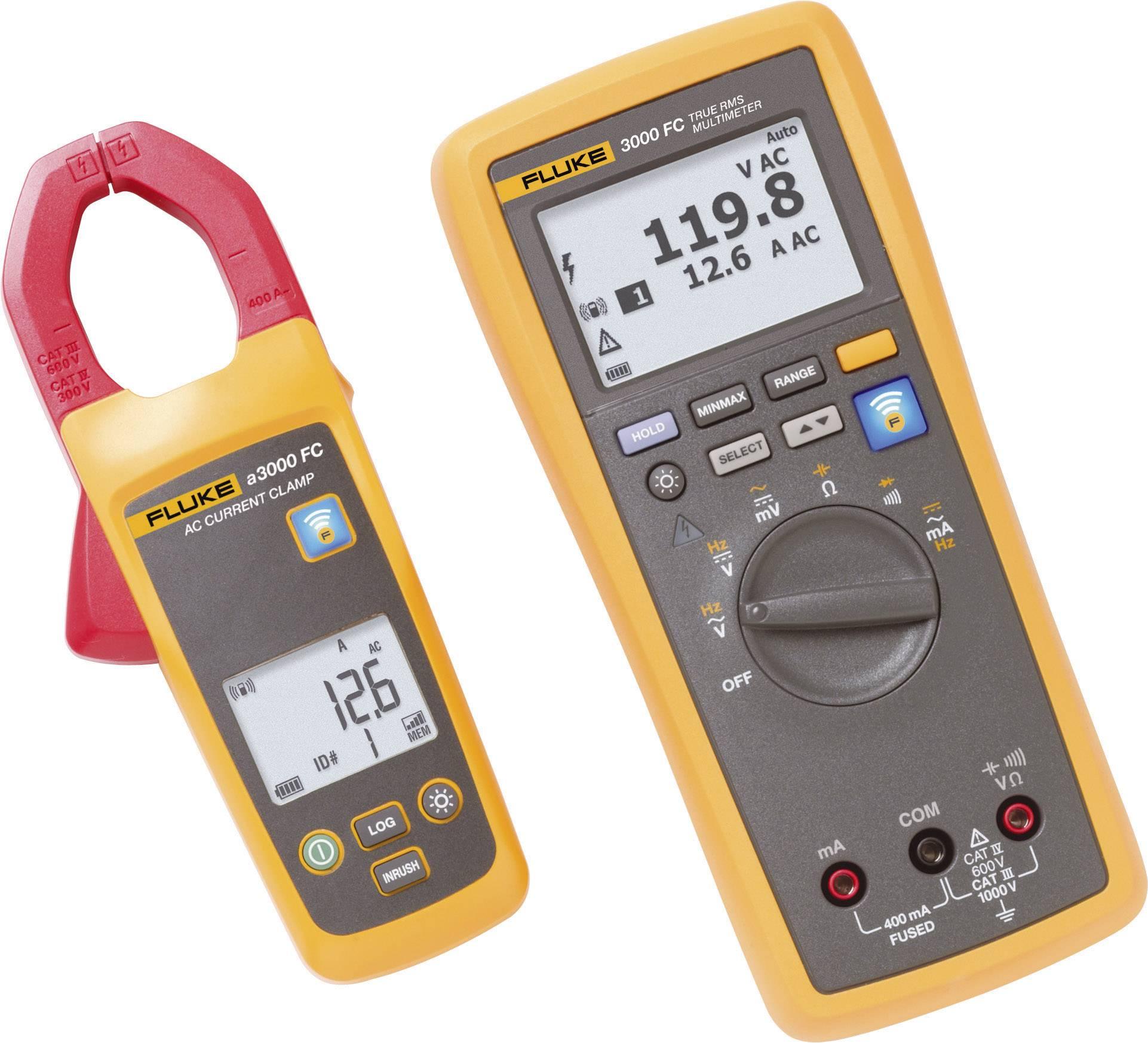 Sada pro bezdrátové měření proudu Fluke FLK-A3000 FC KIT, Fluke Connect, 4465618