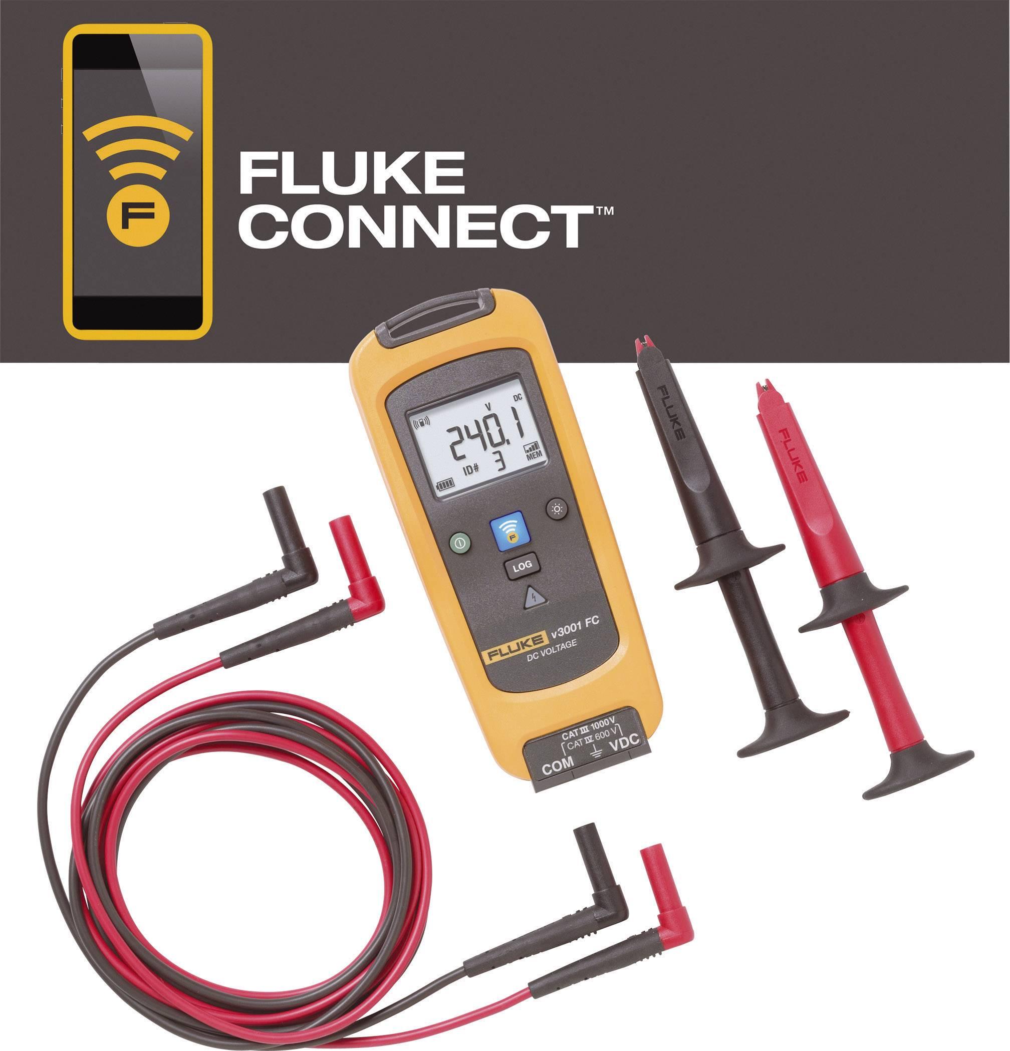 Bezdrátový napěťový modul Fluke FLK-V3001 FC, Fluke Connect, 4459421