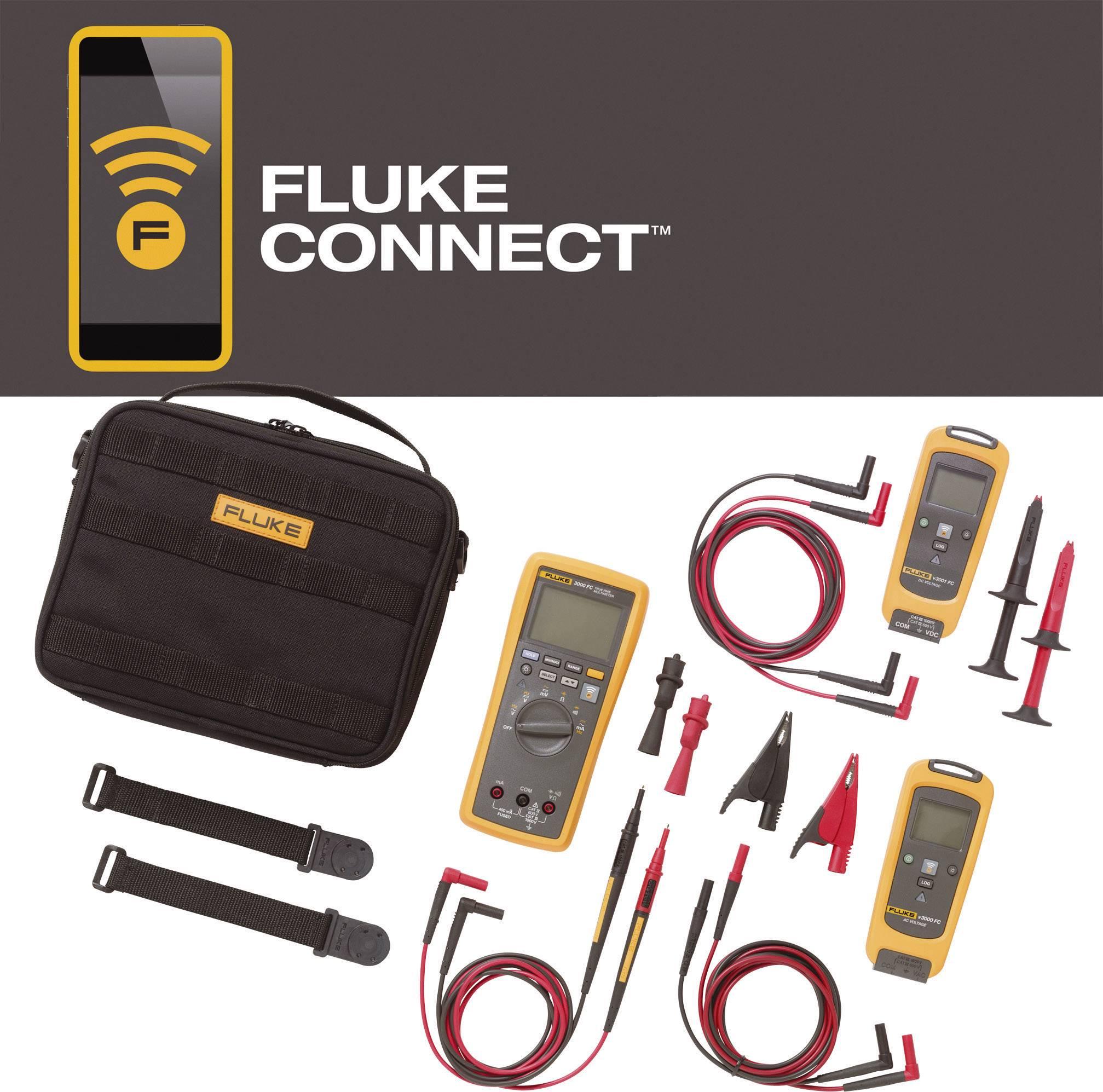 Sada pro bezdrátové měření nepětí Fluke FLK-V3003 FC KIT, Fluke Connect, 4467789