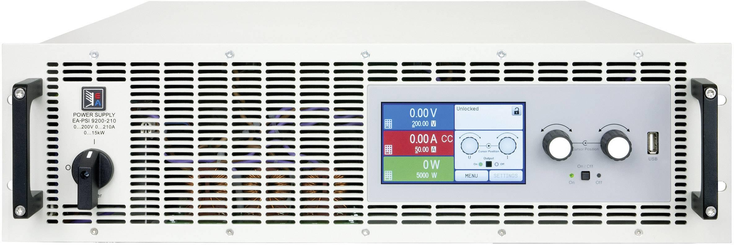 Programovateľný laboratórny zdroj EA EA-PSI 9500-90, 3U, 500 V, 90 A, 15000 W, USB
