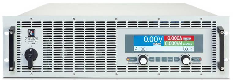 Programovateľný laboratórny zdroj EA EA-PS 9500-90, 3U, 500 V, 90 A, 15000 W, USB, Ethern