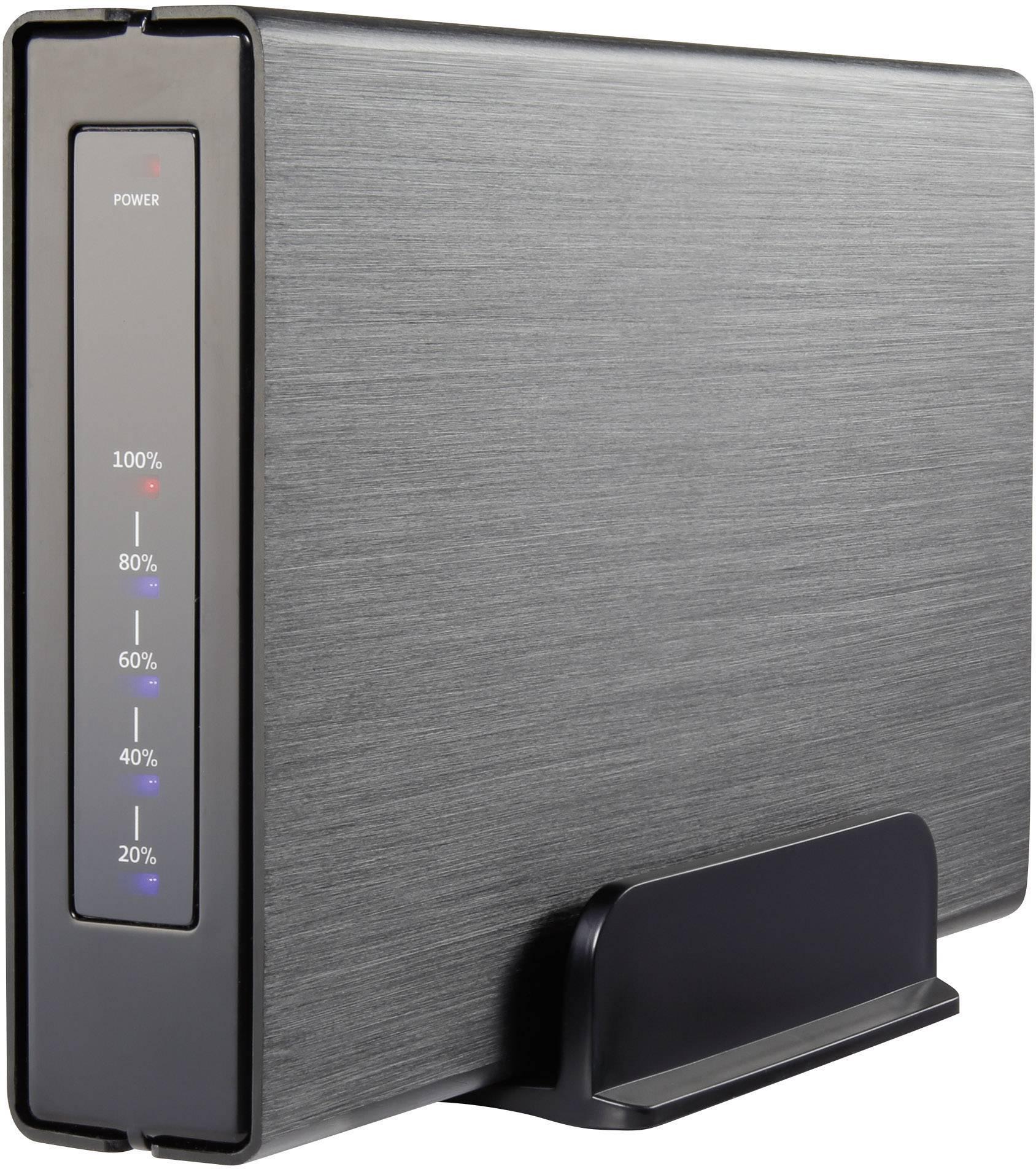 """Kryt pre SATA pevné disky Renkforce, pre 2,5"""" aj 3,5"""", USB 3.0, HD325U3J"""