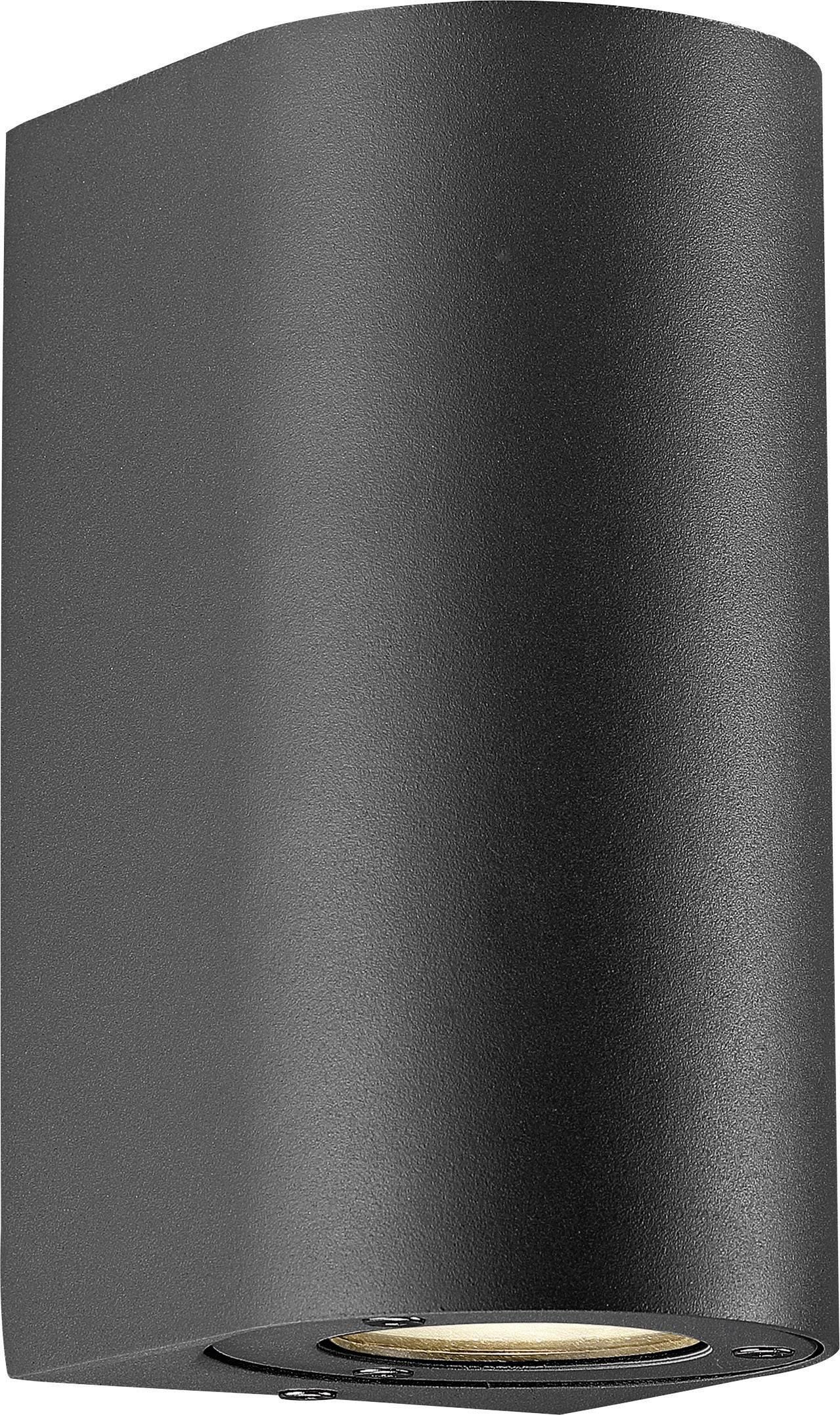 Vonkajšieosvetlenie Nordlux Canto Maxi 77561003, GU10, 70 W, hliník, čierna