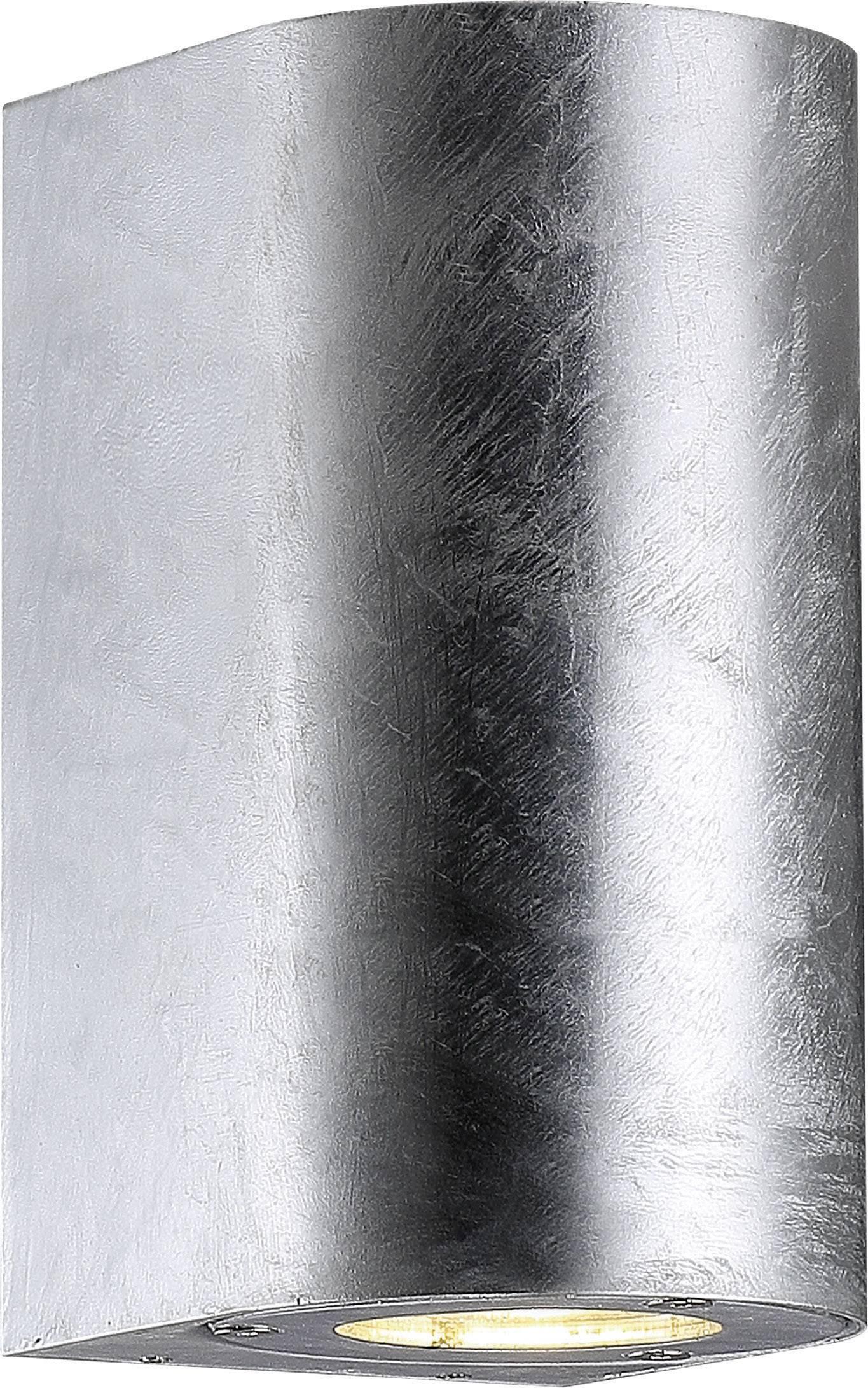Vonkajšieosvetlenie Nordlux Canto Maxi 77561031, GU10, 70 W, hliník, pozinkovaný