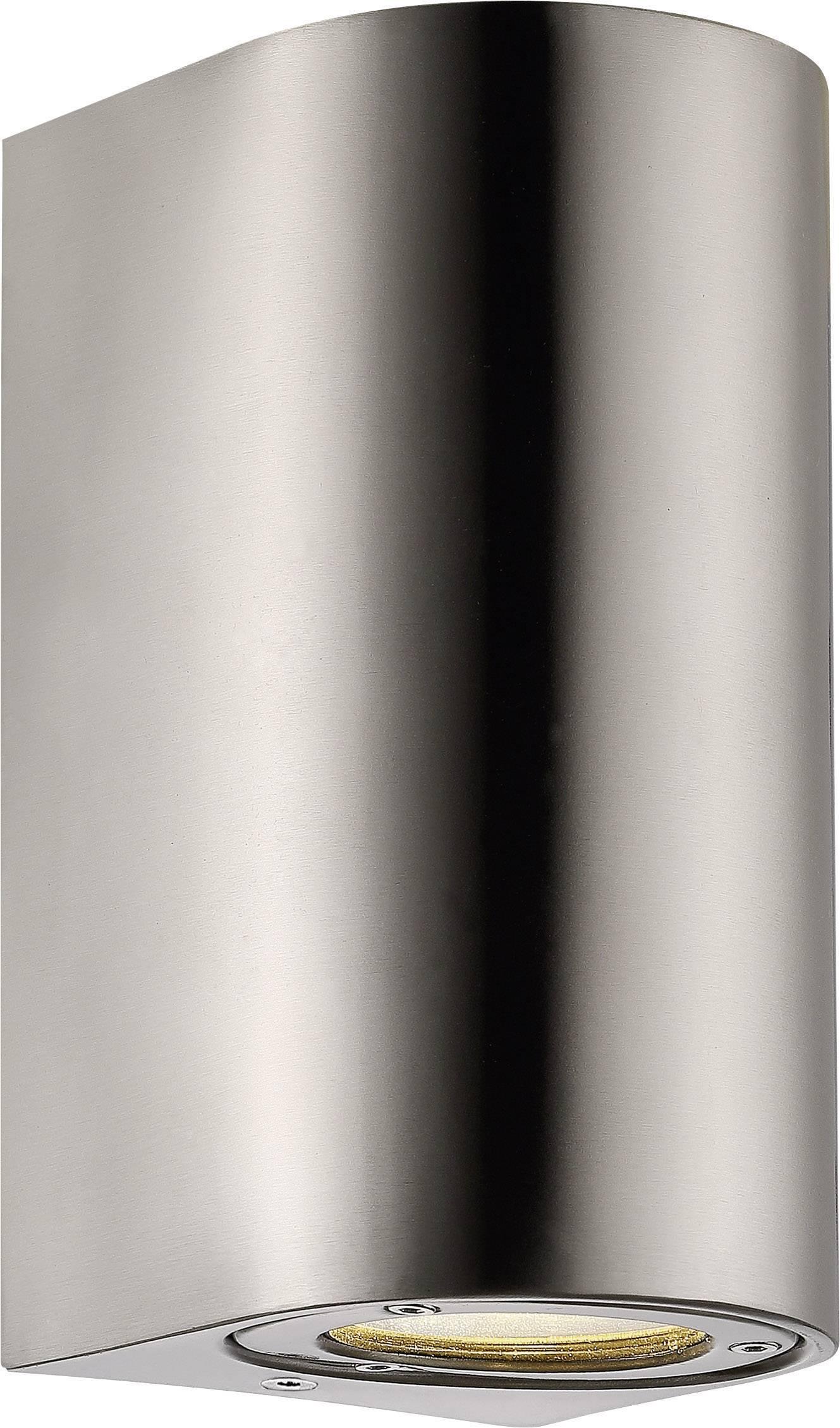 Vonkajšieosvetlenie Nordlux Canto Maxi 77561034, GU10, 70 W, hliník, nerezová oceľ