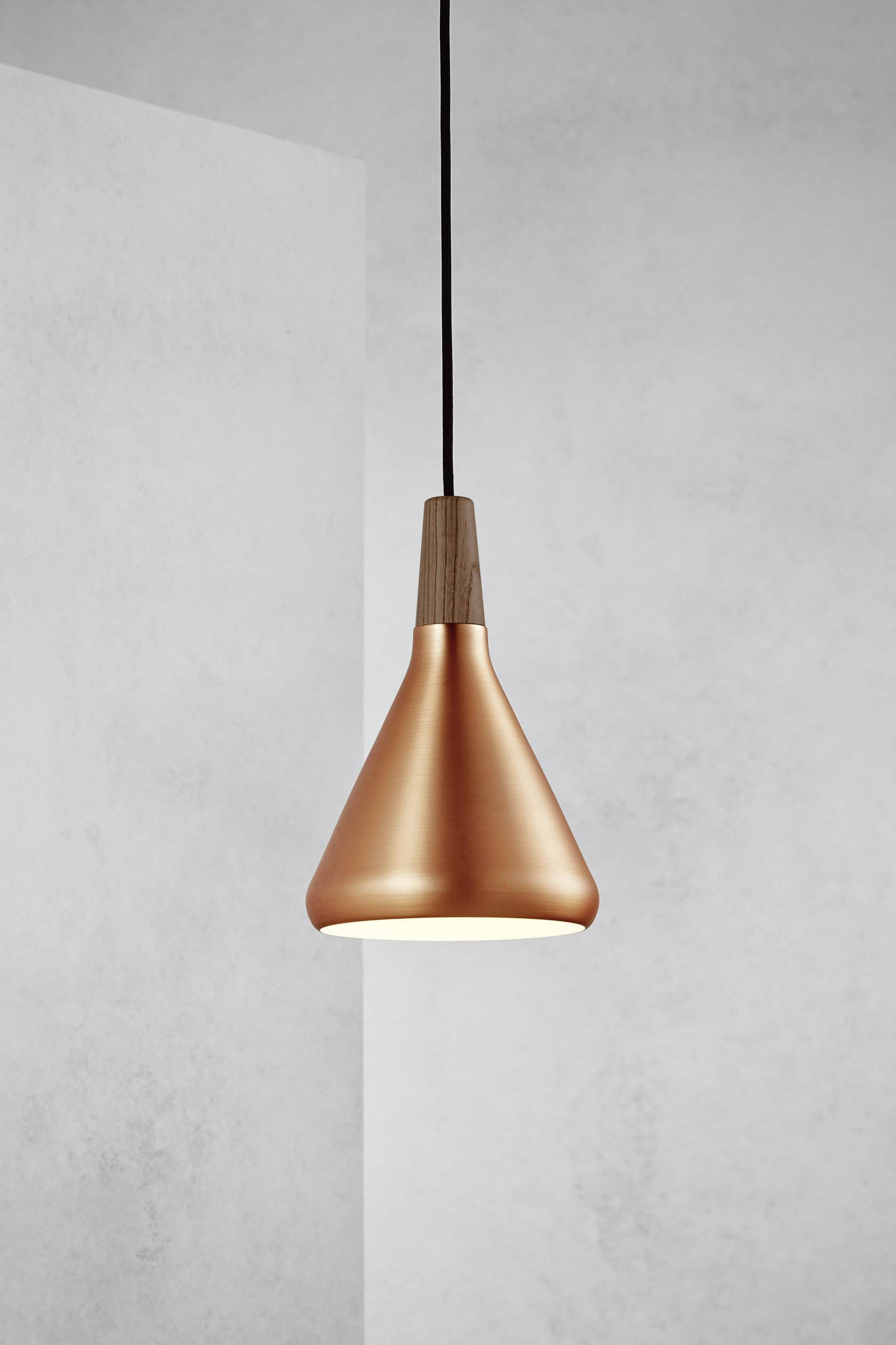 Závesné svietidlo halogénová žiarovka Nordlux Float 18 78203030, E27, 60 W, meď