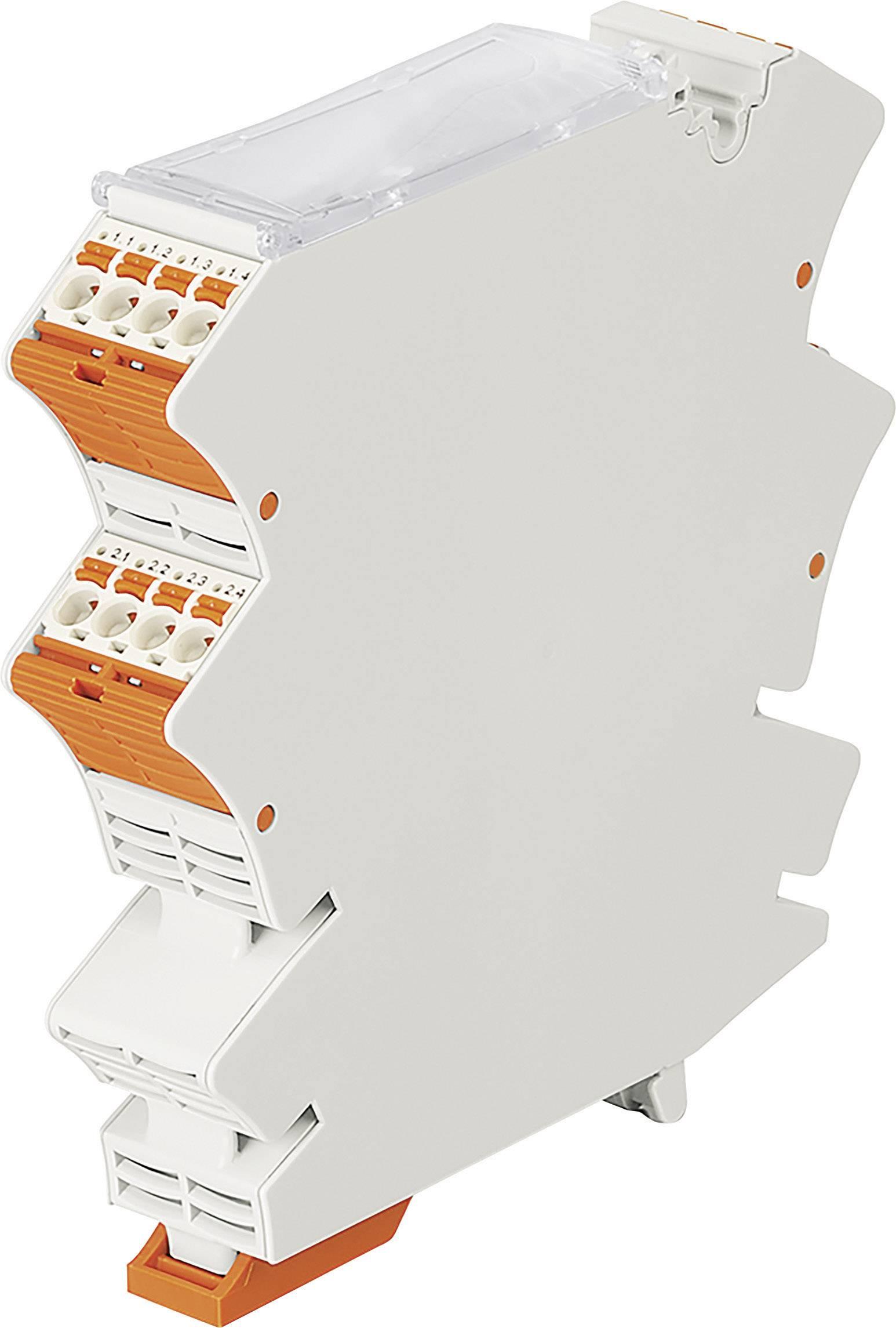 Modulární prázdné pouzdro s předmontovanou pružinovou svorkovnicí picoMAX® WAGO 2857-121 1 ks