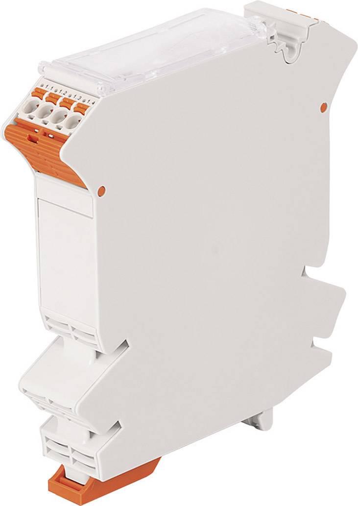 Modulární prázdné pouzdro s předmontovanou pružinovou svorkovnicí picoMAX® WAGO 2857-124 1 ks